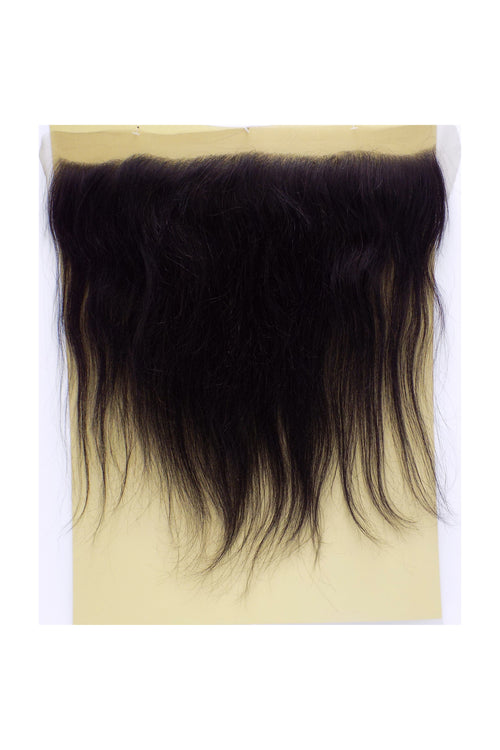 "100% HUMAN HAIR- SWISS FULL LACE 13 x 4 inch  CLOSURE - STRAIGHT 12"" - STARCURLS.COM"