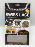 QFIT SWISS LACE FOR  MAKE OR REPAIR LACE WIG #5012 NATURAL SKIN TONE - STARCURLS.COM