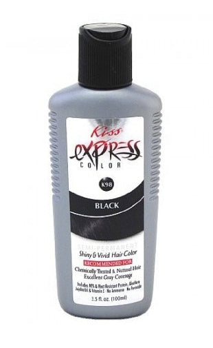 KISS Express Semi-Permanent Hair Color, 3.50 oz (1 Pack) - STARCURLS.COM