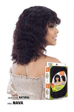 MODEL MODEL 100% BRAZILIAN HUMAN HAIR WIG  -NAVA - STARCURLS.COM