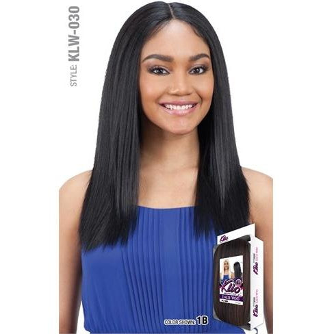 MODEL MODEL LACE WIG EAR TO EAR CENTER PART KLIO  (KLW-030) - STARCURLS.COM
