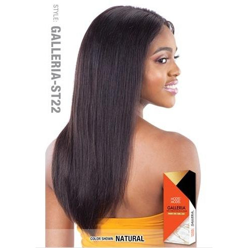 "100% VIRGIN HUMAN HAIR LACE FRONT WIG STRAIGHT 22 INCH"" - GALLERIA ST22 - STARCURLS.COM"