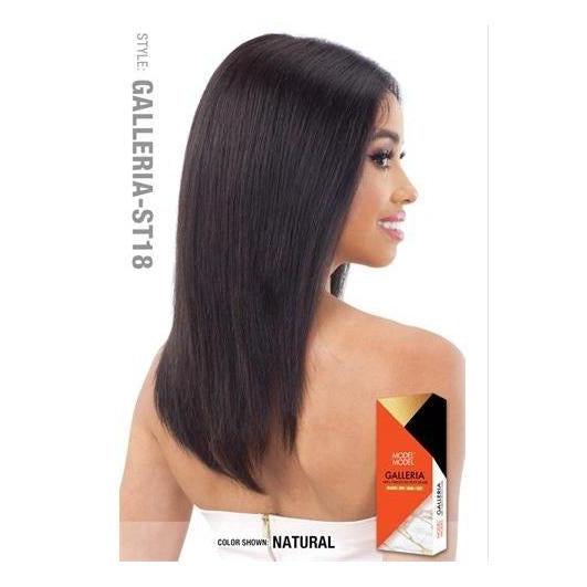 "100% VIRGIN HUMAN HAIR LACE FRONT WIG STRAIGHT 18 INCH"" - GALLERIA ST18 - STARCURLS.COM"