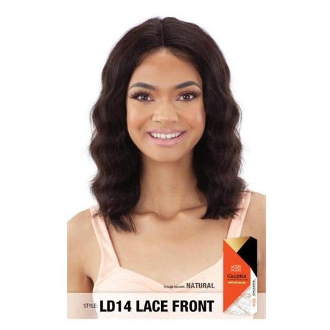 "100% VIRGIN HUMAN HAIR LACE FRONT WIG, LOOSE DEEP 14 INCH"" - GALLERIA  LD14 (LAR39) - STARCURLS.COM"
