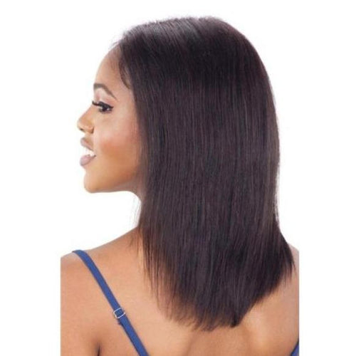 "100% VIRGIN HUMAN HAIR LACE FRONT WIG STRAIGHT 14 INCH"" - GALLERIA ST14 - STARCURLS.COM"