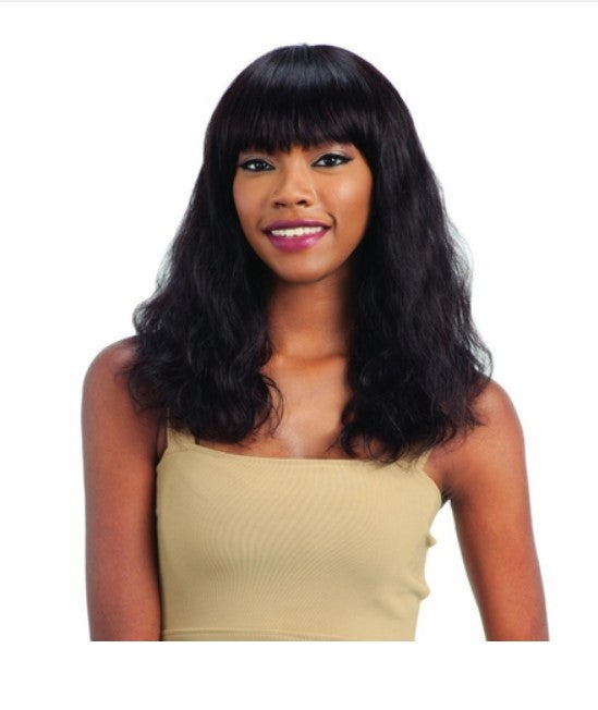 100% BRAZILIAN HUMAN HAIR WIG S-WAVE (M) - STARCURLS.COM