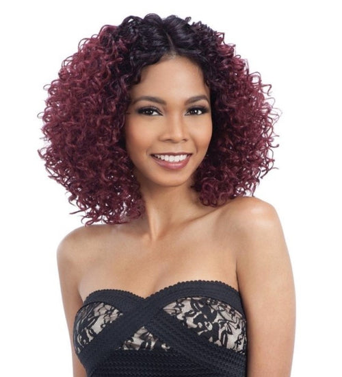 MODEL MODEL HUMAN HAIR BLEND - LACE FRONT- I PART - ARTIST 218 - STARCURLS.COM