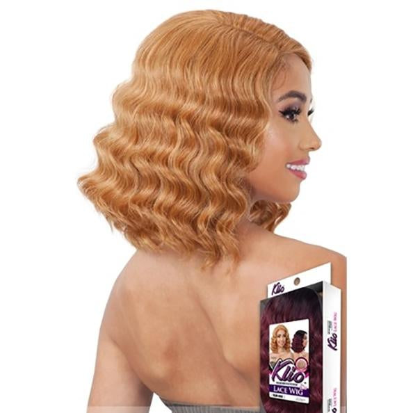 MODEL MODEL LACE WIG EAR TO EAR SIDE PART KLIO  (KLW-050) - STARCURLS.COM