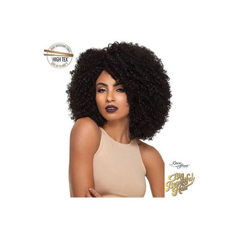 KIMA LACE WIG  -  BRAZILIAN TWIST SHORT  (SYNTHETIC HAIR WIG) - KLW05