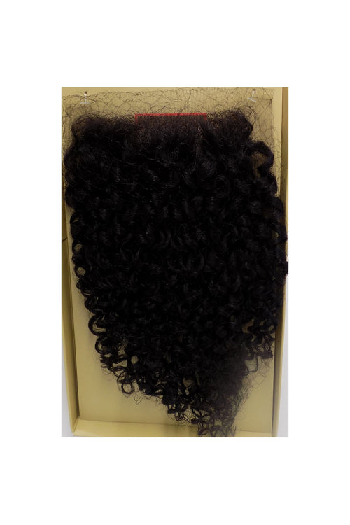 "100% HUMAN HAIR- SWISS FULL LACE 4"" x 4"" CLOSURE - JERRY CURL - STARCURLS.COM"
