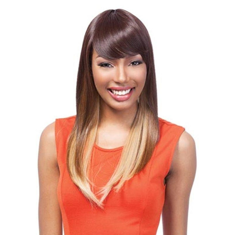 Long Straight Full Wig , IRON FRIENDLY (GINA) - STARCURLS.COM
