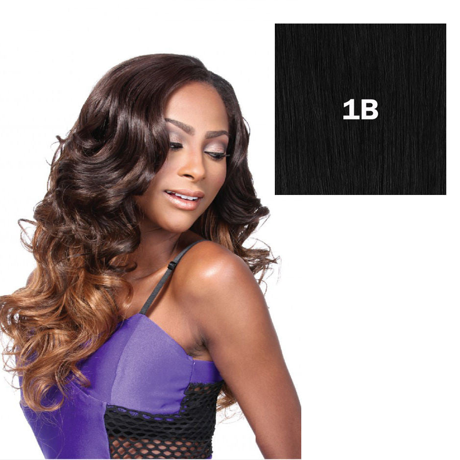 "100% HUMAN HAIR BLEND WEAVE 12""/14""/16""/18"" + Hand tied closure -Romance Curl - STARCURLS.COM"
