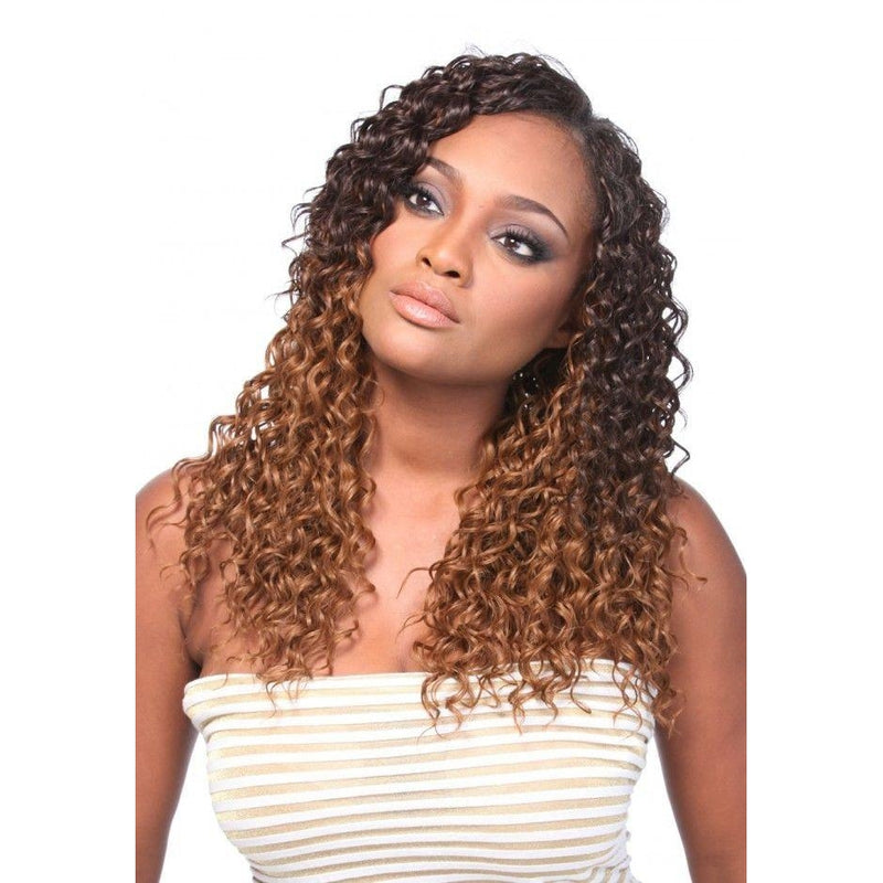 "Multi Blend Weave Hair- 5pc in 1 PK (12"",14"", 16"", 18"" Wefts + Closure), KIM - STARCURLS.COM"