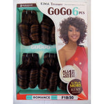 100% HUMAN HAIR BLEND ROMANCE CURL WEAVE  5pc+free closure,GOGO6 (GO6RO) - STARCURLS.COM
