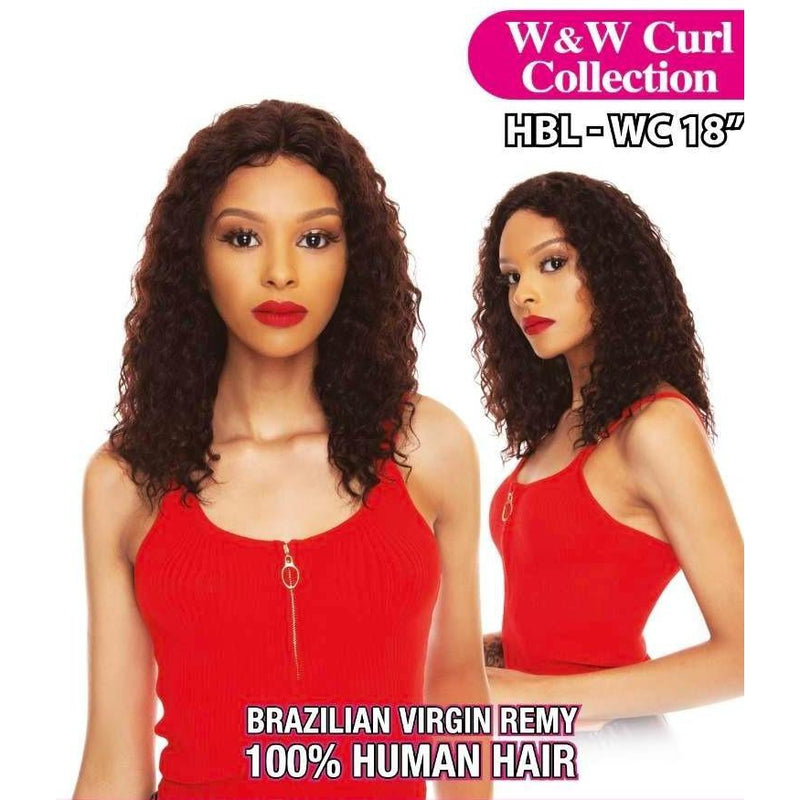 THE WIG 100% BRAZILAIN HUMAN HAIR WIG, Wet & Wavy (HBL-WC18) - STARCURLS.COM