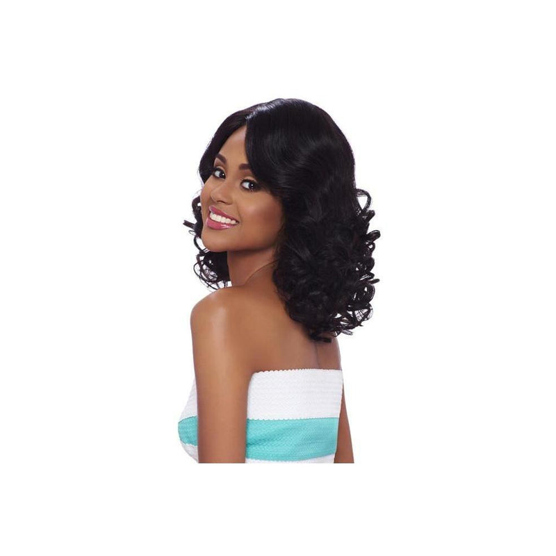 100% Brazilian Natural Remy Hair Lace Wig (BL004) -  (VIRGIN Natural Black) - STARCURLS.COM