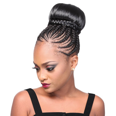 SUPREME HAIR PIECE MEDIUM SIZE BUN - BE215 - STARCURLS.COM