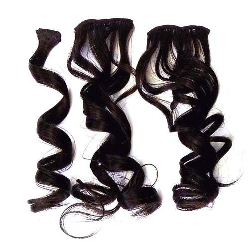 "18"" Premium Quality Body Curly 4pcs Clip on Hair - STARCURLS.COM"