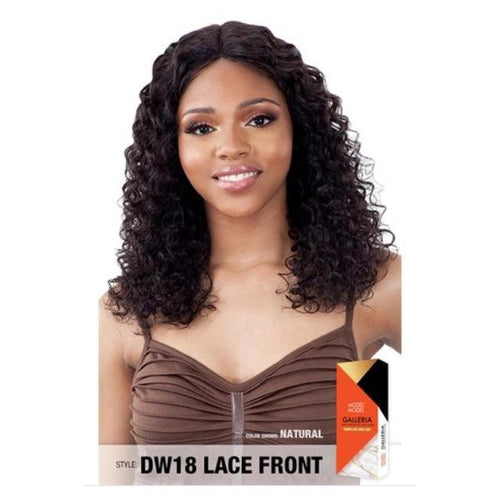 100% VIRGIN HUMAN HAIR LACE FRONT WIG, DEEP WAVE 18 INCH - GALLERIA  DW18 - STARCURLS.COM