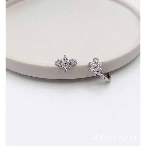 6mm Cubic Zirconia Stainless Steel Earring
