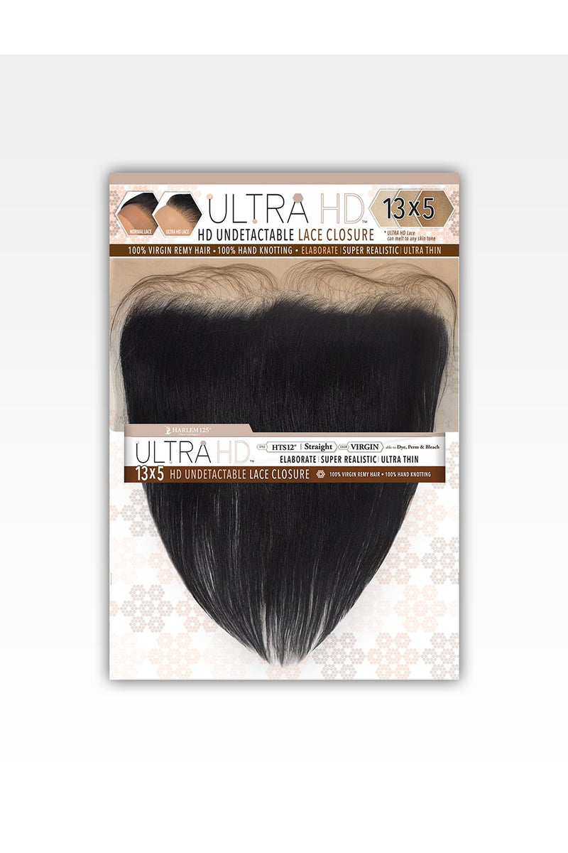 ULTRA HD UNDETECTABLE CLOSURE 13X5 STRAIGHT FRONTAL (HTS) - STARCURLS.COM