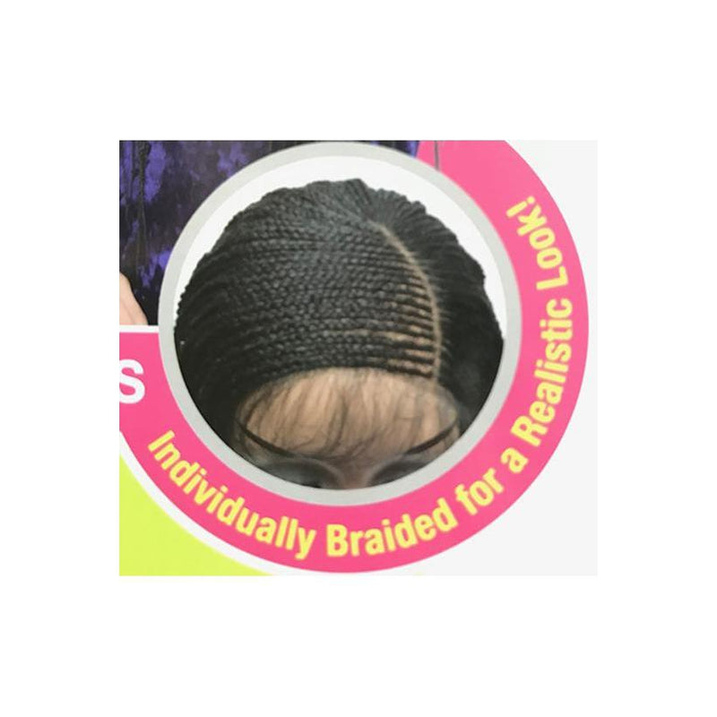 MODEL MODEL 11X4 LACE BRAID LACE WIG - LEMONADE BRAID WIG - STARCURLS.COM