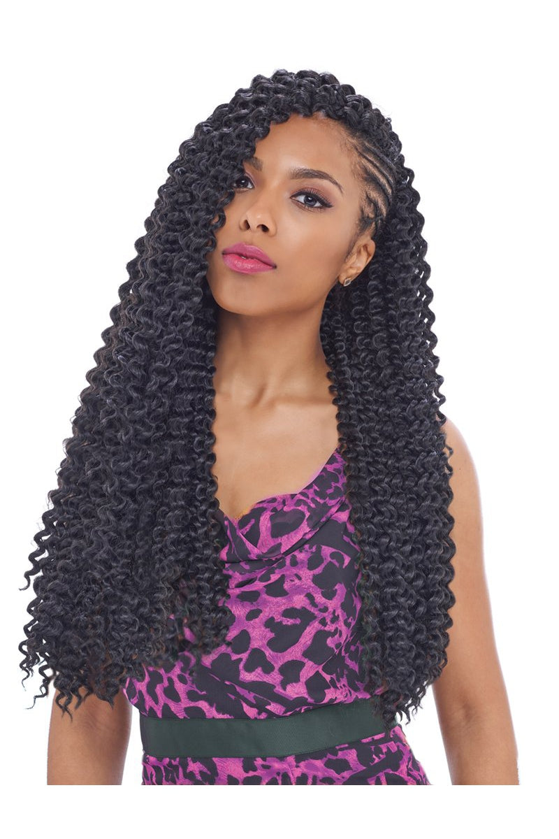 "KIMA WATER WAVE 22"" 3X CROCHET BRAID  (KWA22) - STARCURLS.COM"