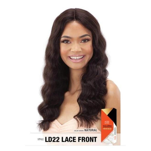 "100% VIRGIN HUMAN HAIR LACE FRONT WIG, LOOSE DEEP 22 INCH"" - GALLERIA  LD22 - STARCURLS.COM"
