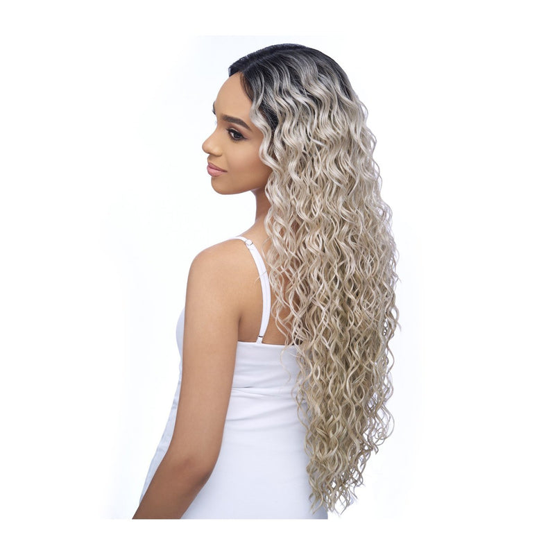 "UNDEACTABLE HD LACE WIG EXTRA LONG CURLY 30"",  5"" DEEP PART (LH005) - STARCURLS.COM"