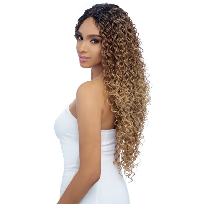 "UNDEACTABLE HD LACE WIG EXTRA LONG CURLY ,  5"" DEEP PART (LH006) - STARCURLS.COM"