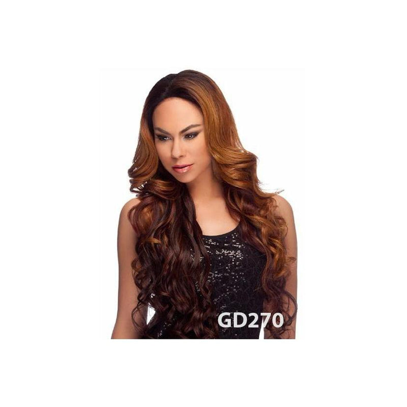 "LACE FRONT WIG, EXTRA LONG LOVEY CURL 32"" (LL003) - STARCURLS.COM"
