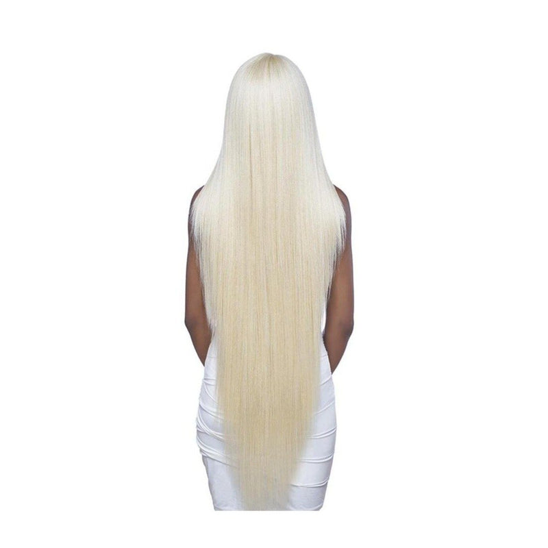 "SWISS LACE FRONT, 6"" DEEP CENTER PART- XLONG STRAIGHT 42"" (LSD90) - STARCURLS.COM"