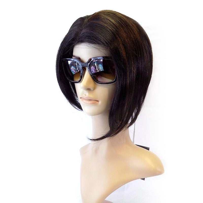 Short BOB STYLE WIG,  Bang & Cutting Edge (SC-107) - STARCURLS.COM
