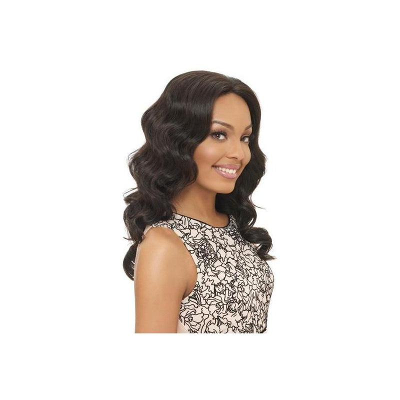 100% Brazilian Natural Remy Hair Lace Wig (BL003) - (VIRGIN Natural Black) - STARCURLS.COM