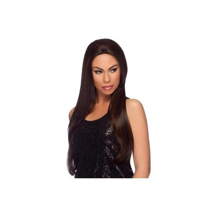"LACE FRONT WIG, EXTRA LONG STRAIGHT 30"" (LL001)* - STARCURLS.COM"