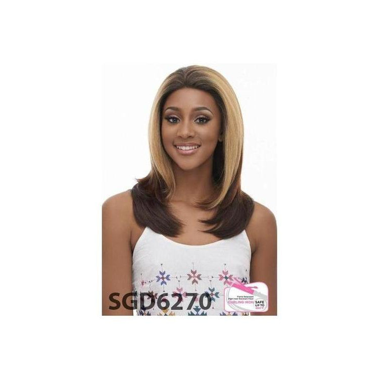 LACE FRONT STRAIGHT WIG , SIWSS MELLOW BASE (LSM01) - STARCURLS.COM