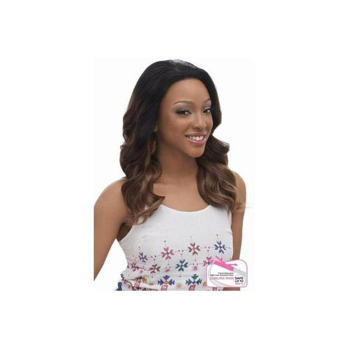 LACE FRONT WIG, WAVY CURL STRAIGHT  (LM102) - STARCURLS.COM