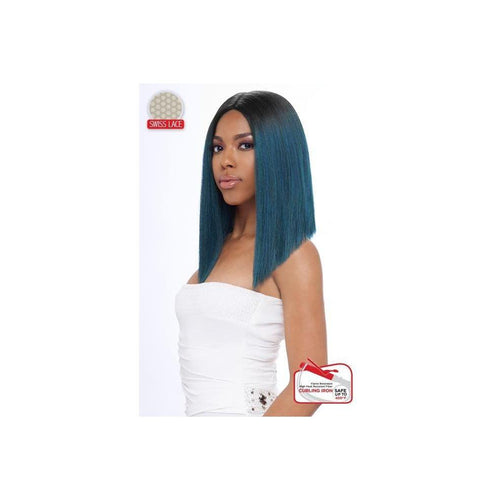 LACE FRONT WIG, SWISS DEEP PART LACE CLEO-STRAIGHT  (LSD08) - STARCURLS.COM