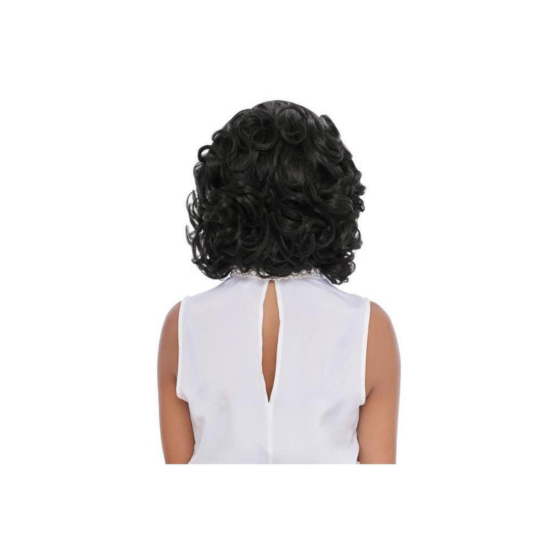 LACE FRONT WIG , SWISS LACE  DEEP PART SHORT COLLECTION (LSD74) - STARCURLS.COM