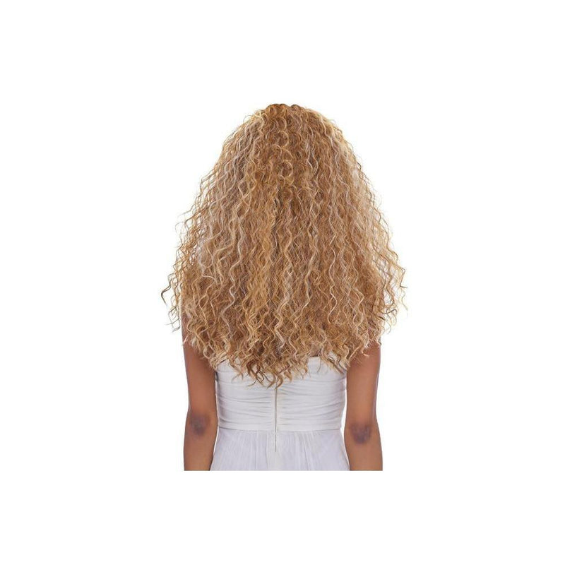 LACE FRONT JERRY CURL WIG, SWISS MELLOW BASE (LSM08) - STARCURLS.COM