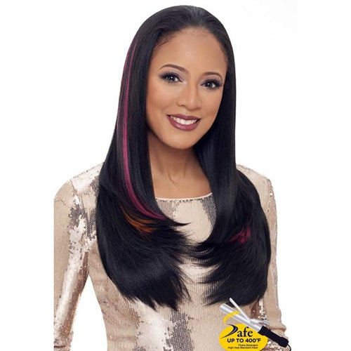 WIG 2 GO , LONG STRAIGHT HALF WIG (WG204) - STARCURLS.COM