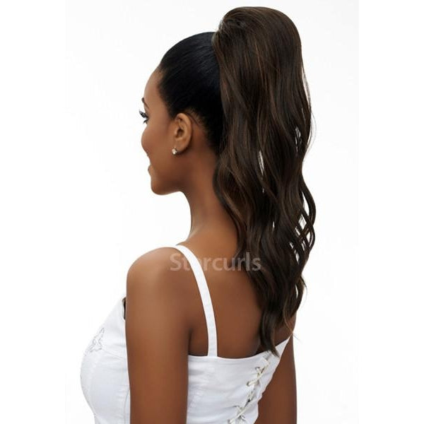 LOOSE DEEP WAVE - ORIGINAL PONYTAIL DRAW STRING (SAMBA142) - STARCURLS.COM