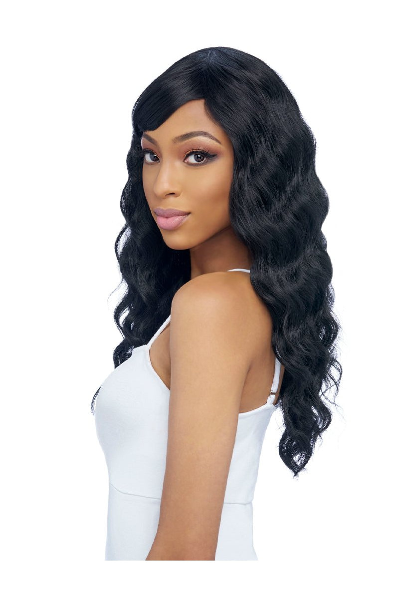 GO GO COLLECTION, FASHION WIG WITH BANG  (GO119) - STARCURLS.COM