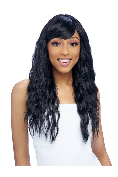 GO GO COLLECTION, FASHION WIG WITH BANG  (GO120) - STARCURLS.COM