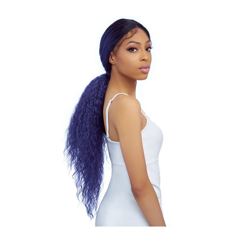 HAREM 125, ULTRA HD-SLEEK PONYTAIL LACE WIG WITH BABY HAIR (LH012) - STARCURLS.COM