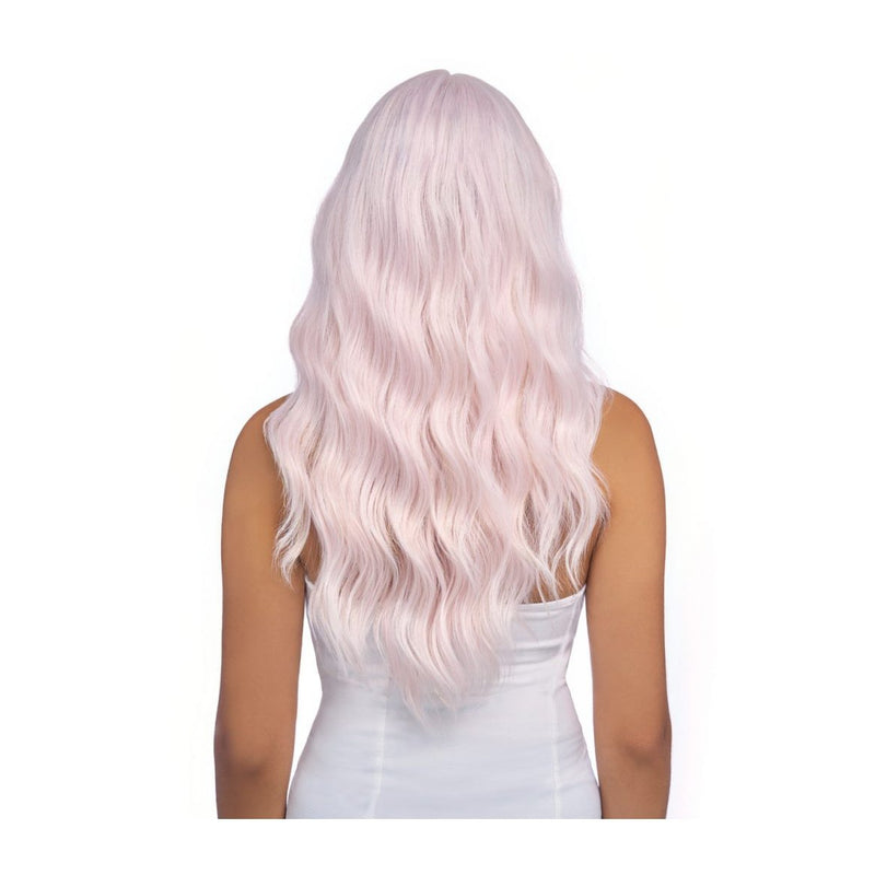 HARLEM125 5-INCH DEEP PART  SWISS LACE WIG, WAVY & TINSEL - LSD40 - STARCURLS.COM