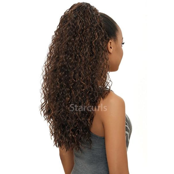 "ORIGINAL PONYTAIL DRAW STRING (SAMBA148) 20"" - STARCURLS.COM"