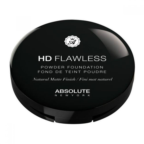 ABSOLUTE NEW YORK - HD FLAWLESS POWDER FOUNDATION - STARCURLS.COM