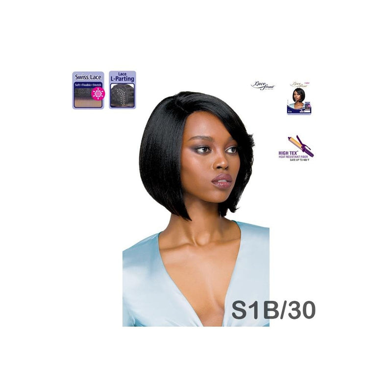OUTRE SYNTHETIC HAIR SWISS LACE FRONT WIG - ALIA - STARCURLS.COM