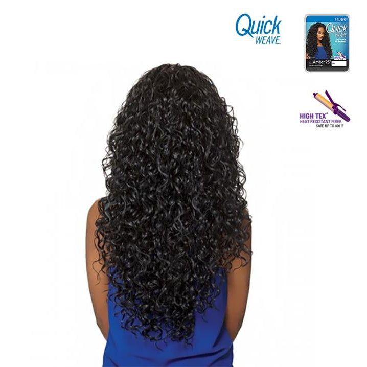 "OUTRE QUICK WEAVE HALF WIG  - AMBER 26"" - STARCURLS.COM"